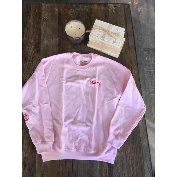 164dedb289 Harry Styles Crewneck Sweatshirt. M 5a581dde33162724f0bb6c33